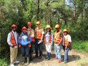 Southern University Students Learn About EFETAC Carbon and Water Research