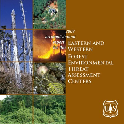 Accomplishment Report Cover  Eastern Forest Environmental