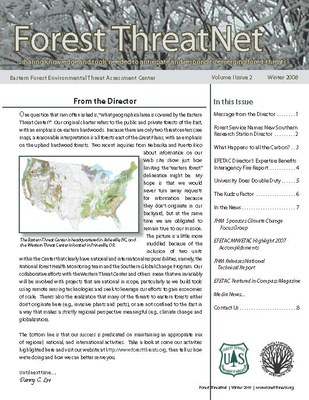 Volume 1, Issue 2 - Winter 2008