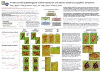 A Framework for Predicting Post-wildfire Trajectories with Desired Conditions Using NDVI Time Series