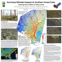 Hurricane Michael Impacts to Southern Forest Fuels: Tracking Storm Effects as They Evolve