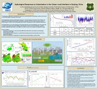 Hydrological Responses to Urbanization in the Urban-rural Interface in Nanjing, China