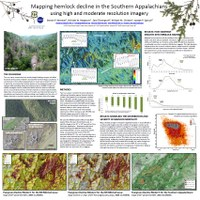 Mapping Hemlock Decline in the Southern Appalachians Using High and Moderate Resolution Imagery