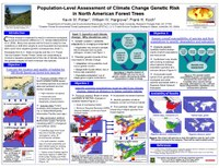 Population-Level Assessment of Climate Change Genetic Risk in North American Forest Trees